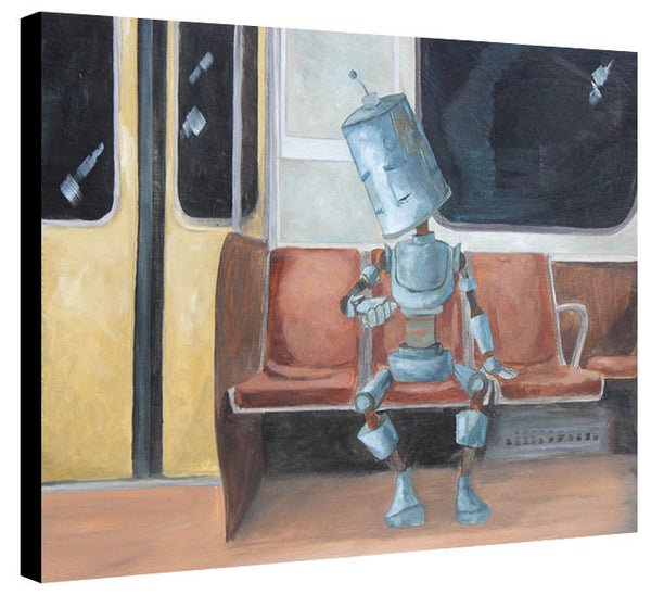 Subway Train Bot #2 - Lauren Briere