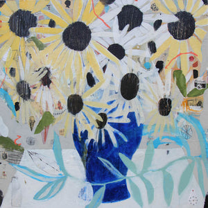 Sunflowers - Judy Paul - 30x30""