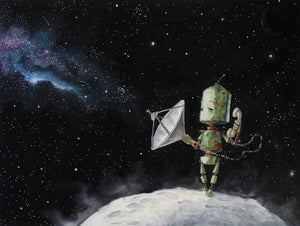 Tele-Moon Bot - Lauren Briere - Print