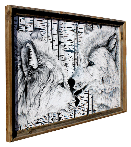 The Wolves - Flip Solomon - 24x36""