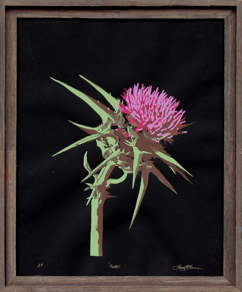 Thistle - Landry McMeans - 22x28""