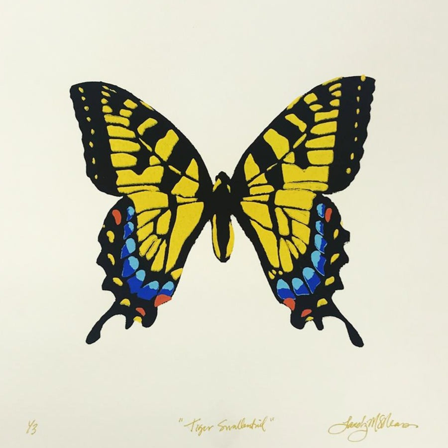 Tiger Swallow Tail - Landry McMeans - 12x12""