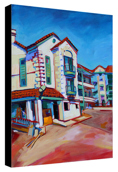 Tile Roof on South Congress - Sari Shryack - 18x24""
