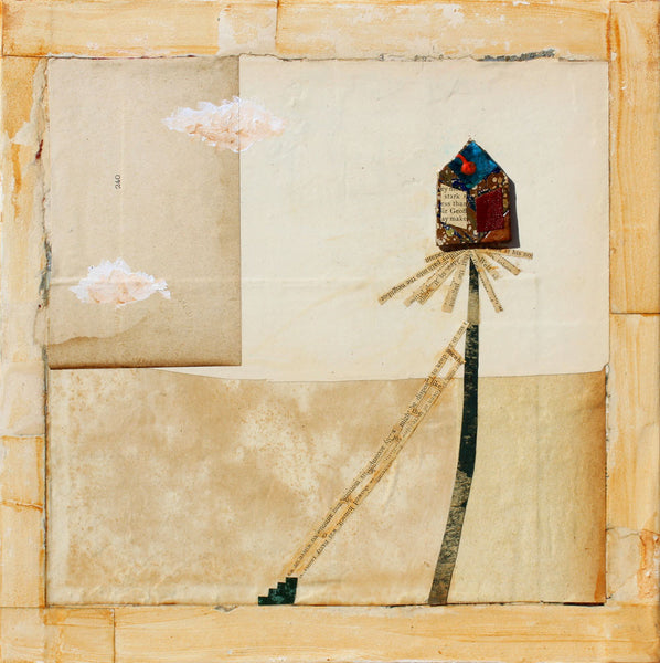 Tree House - Larry Goode - 12x12""