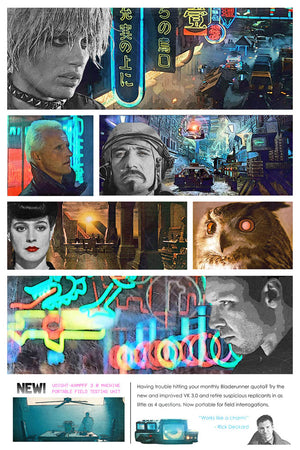 80's Movie Tribute - Bladerunner by Jake Bryer