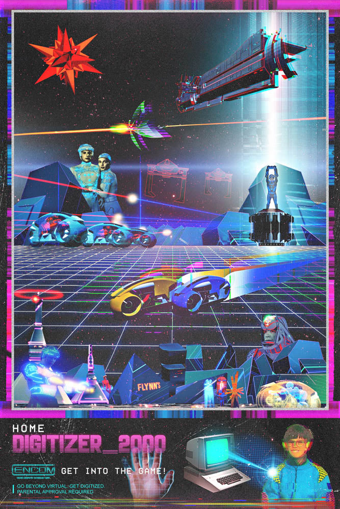 80's Movie Tribute - Tron by Jake Bryer