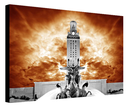 UT Tower Orange