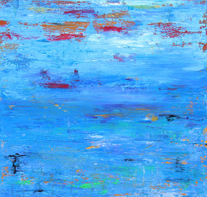 Underwater Drama - Dawn Winter - 30 x 30""