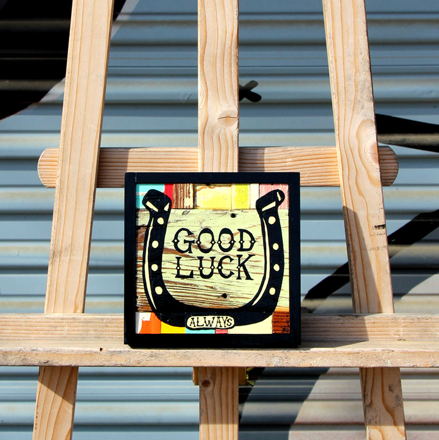 Up for Luck - Brian Phillips - 6x6""