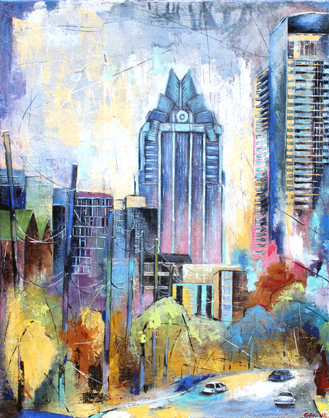 West 5th. - Anna Ganina - 22x28""