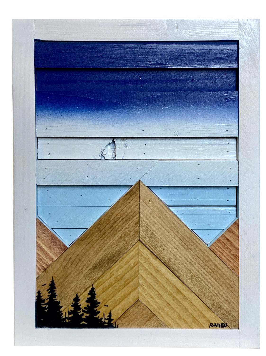 Where Eagles Soar - Raymond Allen - 8.25x11.25""