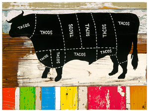 Where Tacos Come From - De Vaca - Brian Phillips - Print