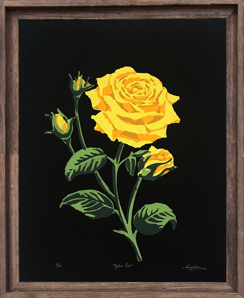 Yellow Rose - Landry McMeans - 18x24""