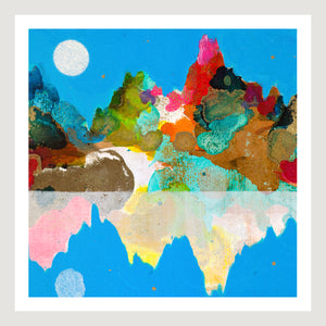 Alpine Lake - Judy Paul - Print