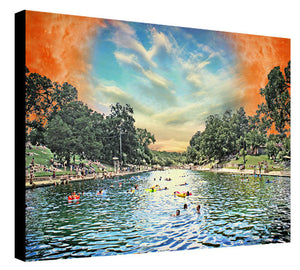 Barton Springs Sunburn 2 by Jake Bryer