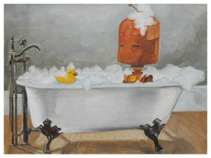 Bathtub Bot - Lauren Briere - Print