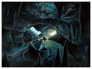 Caves Bot - Lauren Briere - Print