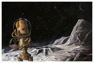 Explorer Bot - Print by Lauren Briere