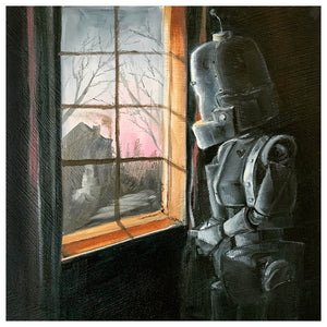 Inside Looking Out Bot - Lauren Briere - Print