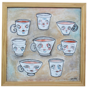Island of Misfit Cups - Savannalore - 12x12""
