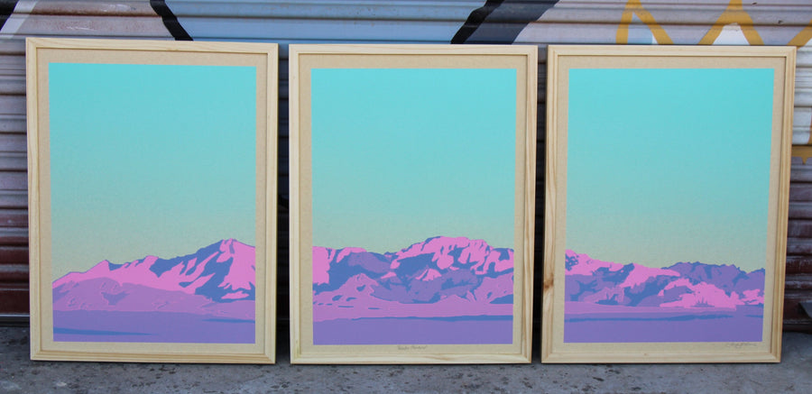 Paradise Mountains - Landry McMeans - 54x24""