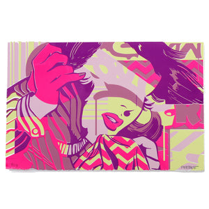 "Pop Art (Pink Edition) - Phoebe Joynt - 17X11"" (Screenprint)"