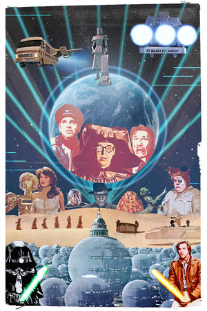 80's Movie Tribute - Spaceballs by Jake Bryer