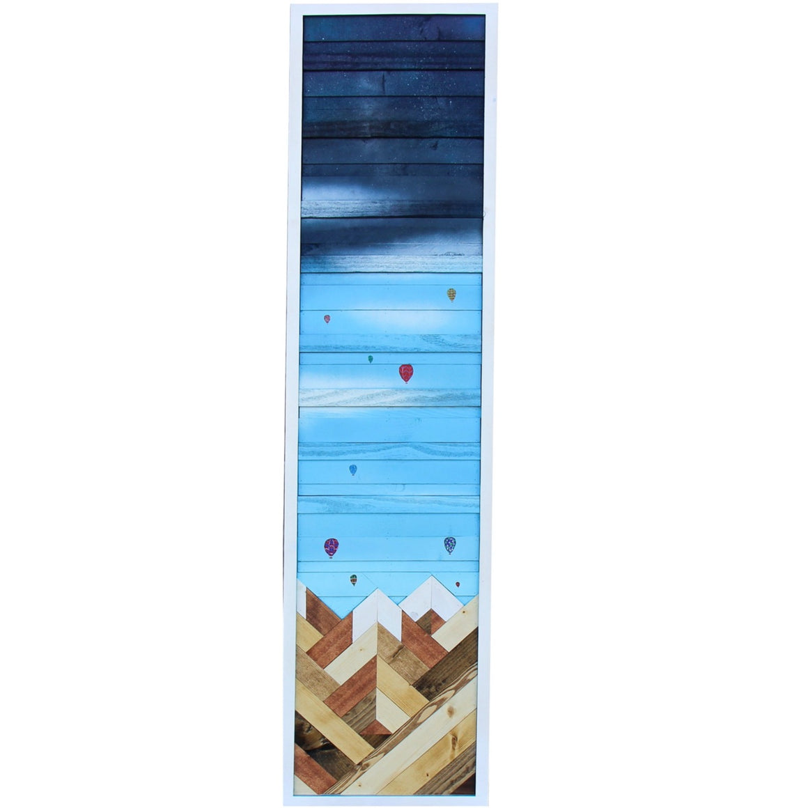 Up, Up, and Away - Raymond Allen - 12x49.5""