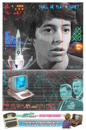 80's Movie Tribute - War Games by Jake Bryer
