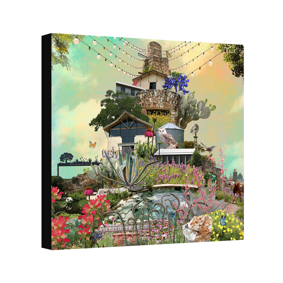 Wildflower Tower - Judy Paul - Print