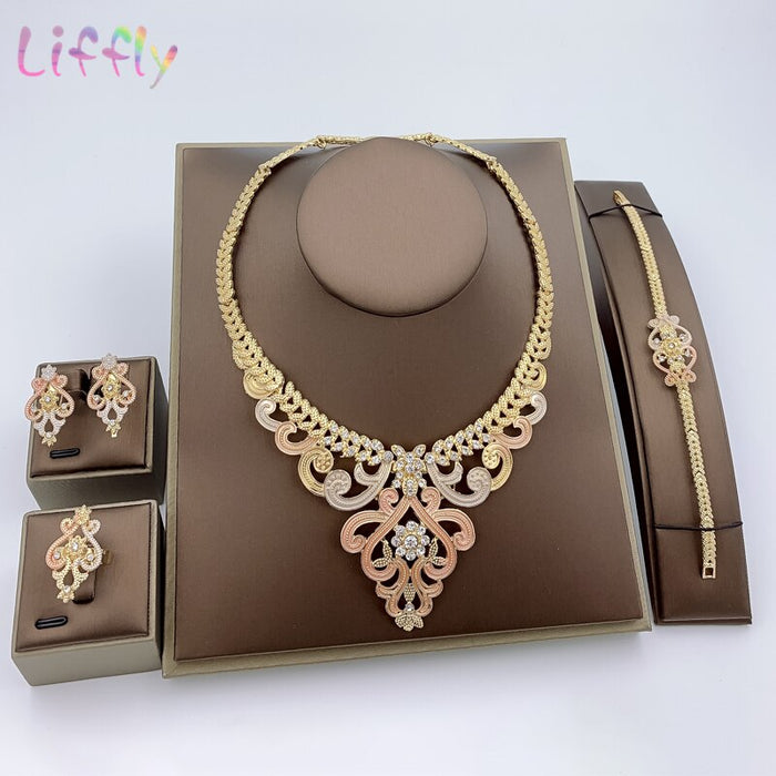 Dubai Bridal Jewelry Sets