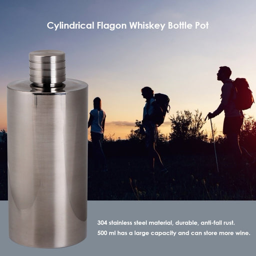 18oz/500ml Stainless Steel Flask