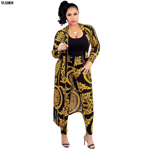Two Piece African Print Dress Set