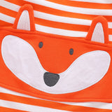 Infant Fox Snug Fit Footed Pajamas