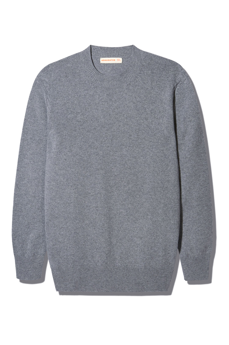 Banba Slouch Crew Neck in Grey