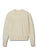 Nora Cashmere Cable Crew Neck in Ecru