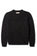 Arden Donegal Crewneck in Black