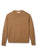 Rooska Lambswool Crewneck in Brown
