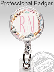 Id badge holders name badges by pretty picture gifts badge reels solutioingenieria Gallery