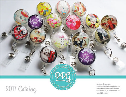 Badge Reel Catalog by Pretty Picture Gifts