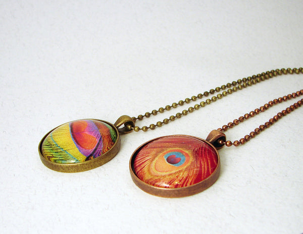 Side View of pendants by Pretty Picture Gifts