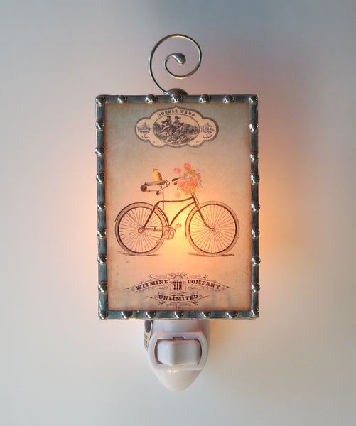 Vintage Bicycle Night Light