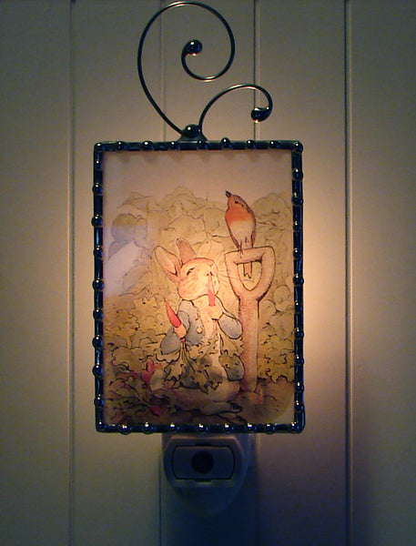 Peter Rabbit Night Light Dark By Pretty Picture Gifts
