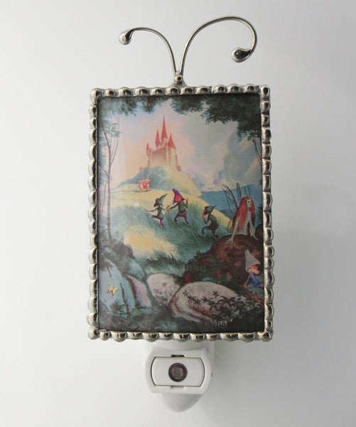 Fairy Castle Child Night Light Fairytale Nightlight