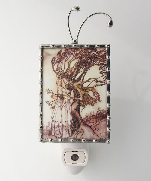 Brothers Grimm Night Light Brown Nightlight Lighting