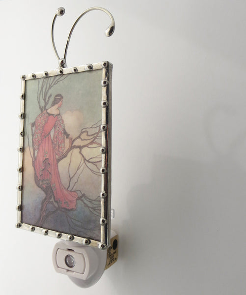 Art Deco Art Nouveau Woman Night Light