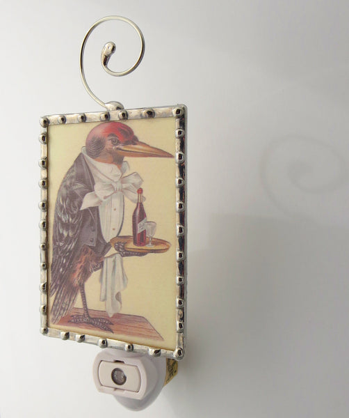 Bird Butler Kitchen Night Light Bird Nightlight side view