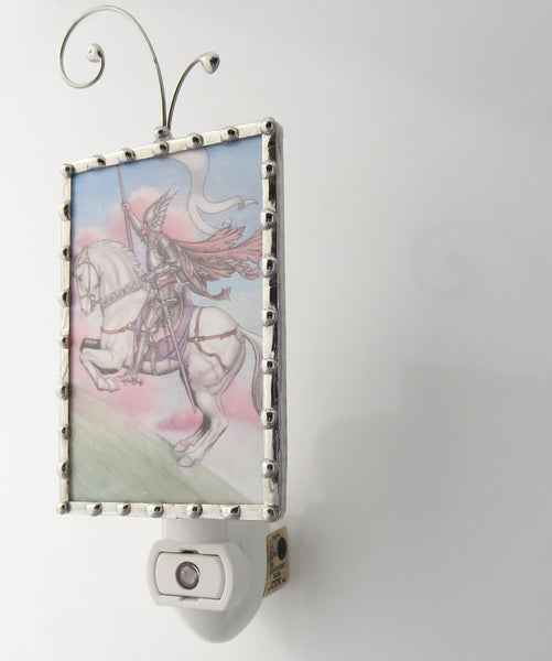 Knight Horse Night Light Fairytale Nightlight side view