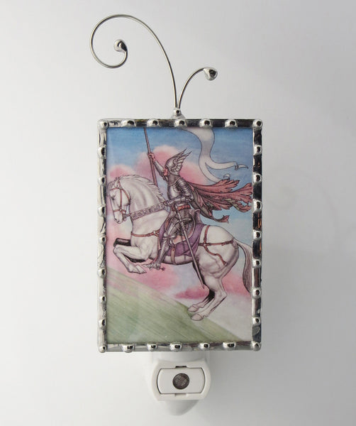 Knight Horse Night Light Fairytale Nightlight
