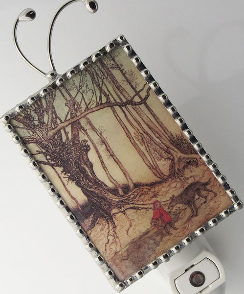 Night light Little Red Ridinghood  by Pretty Picture Gifts